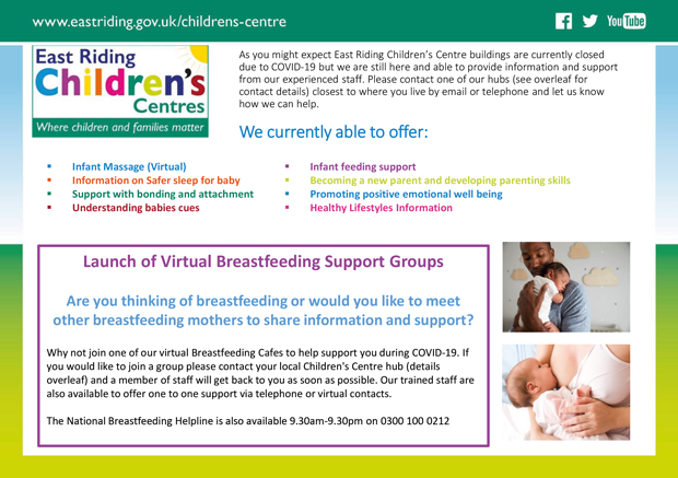 """Featured image for """"Virtual Breastfeeding Cafe Launch"""""""